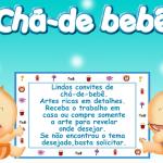 PÁGINA PRINCIPAL CHA DE BEBE